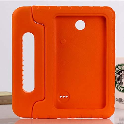 RZL Pad y Tab Fundas para Samsung Galaxy Tab 4 7.0 Pulgadas T230 T231, Cuerpo Completo DE Mano NIÑOS NIÑOS Safe Table Tabla DE Tabla DE EVA para Samsung Galaxy Tab 4 7.0 Pulgada (Color : Orange)