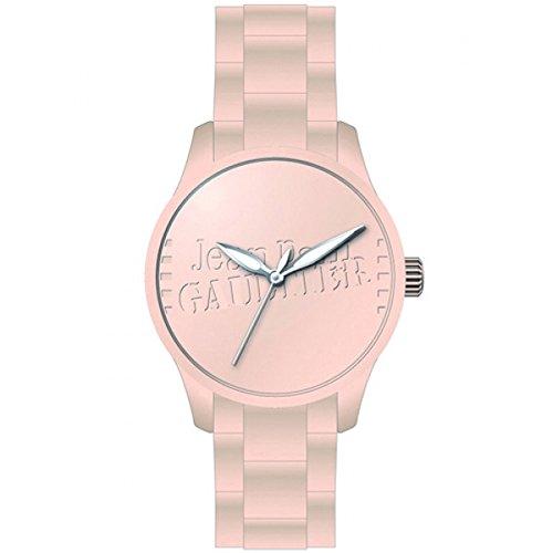 Jean Paul Gaultier Unisex-Armbanduhr Analog Quarz Silikon 8501106