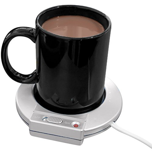 Evelots Electric Mug Warmer/Heater-Home/Office-Coffee/Tea/Soup-On/Off Switch