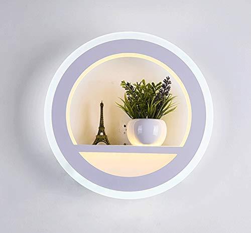 Moderne LED Wandleuchte Wandleuchte Wandleuchte Nachttischlampe Schlafzimmer Persönlichkeit Kreative Rundtreppe Wandleuchte Wandleuchte Gang Korridor Bar, Restaurants, Café.