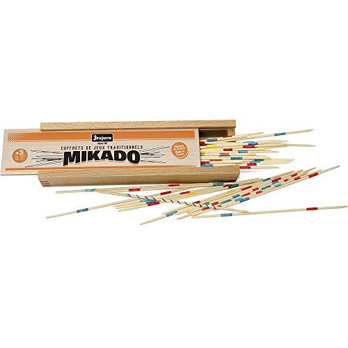 Jeujura 8143Spiel, der Reflexion–Mikado–Holzbox