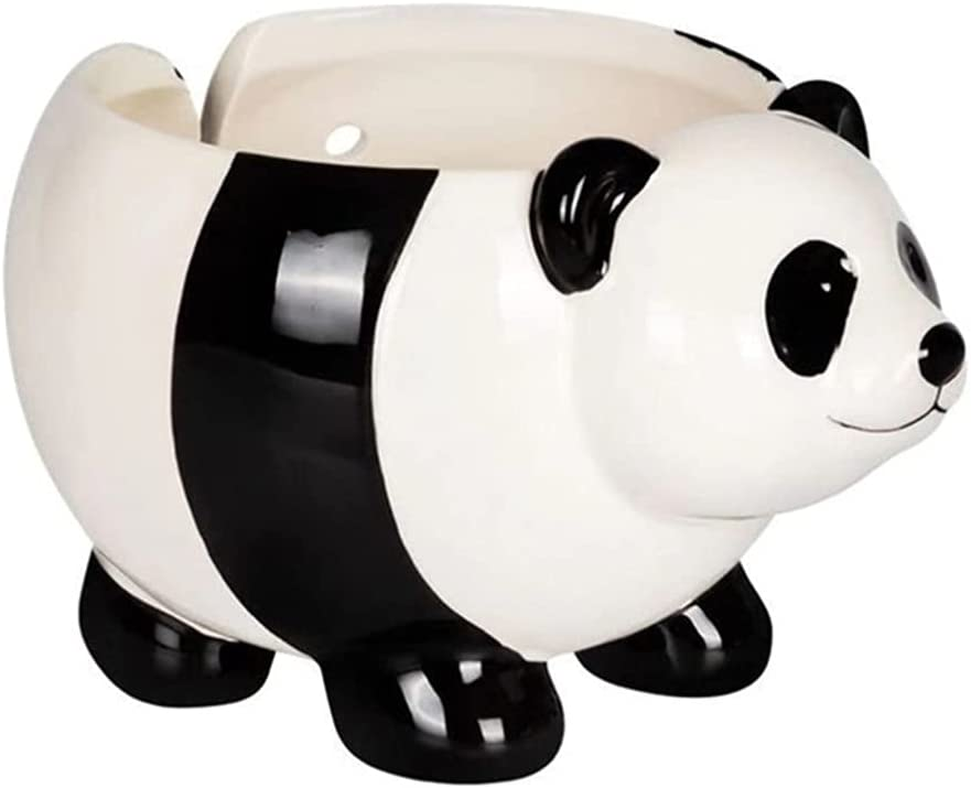 HEALLILY Ceramic Yarn 2021 new Max 64% OFF Bowl for P Knitting Panda Holder