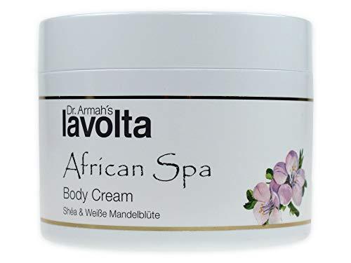 LaVolta Shea African Spa Body Cream Weiße Mandelblüte (200ml) Sonderedition