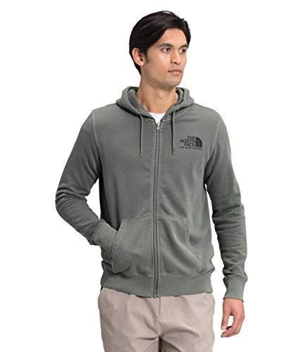 The North Face Men's Image Ideals Full Zip Hoodie, Agave Green, L