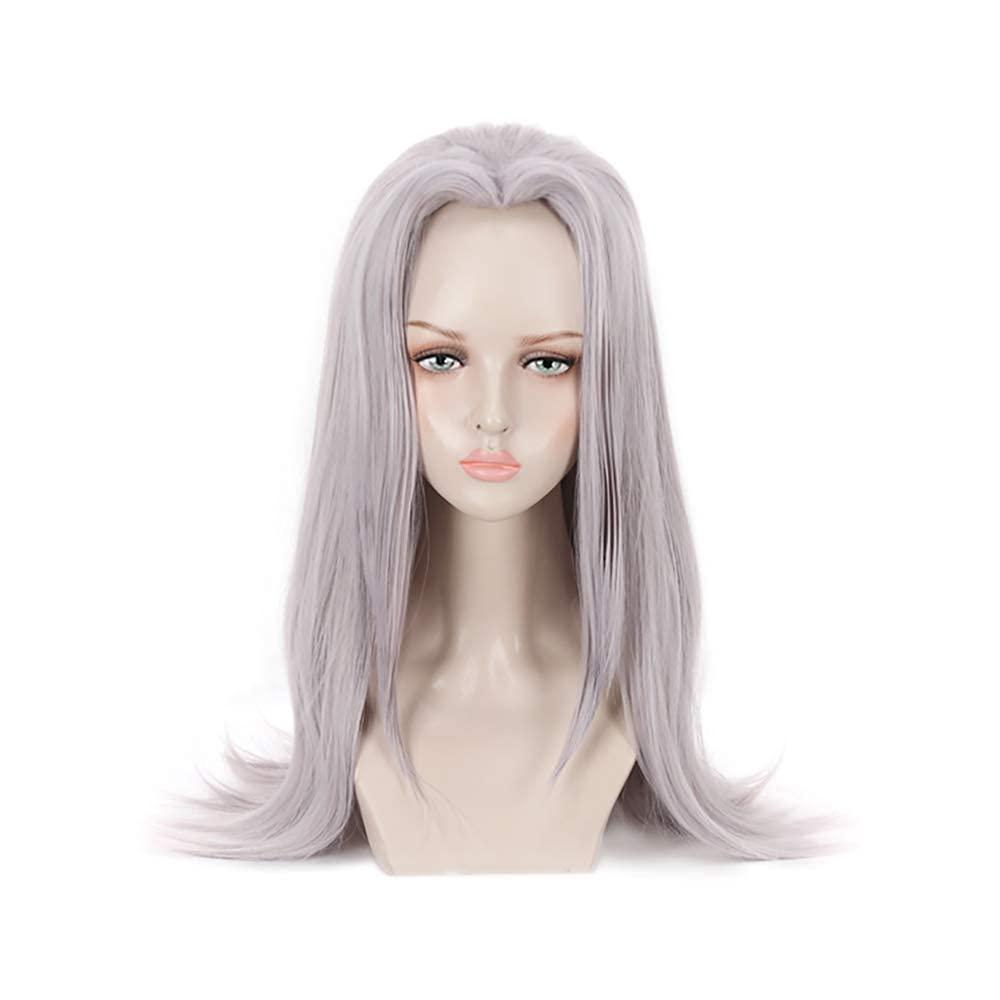 C-ZOFEK Unisex Adults Anime Cosplay Wig New popularity Light Ha Long Purple Nashville-Davidson Mall for