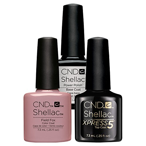 CND Shellac Smalto Semipermanente UV/LED Xpress5 Top/Base/Field Fox - 45 gr