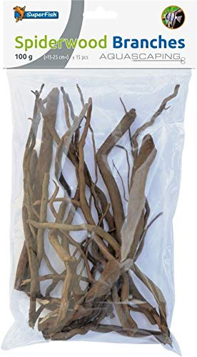 Superfish Aquarium hout SPIDERWOOD Branch 15-25CM