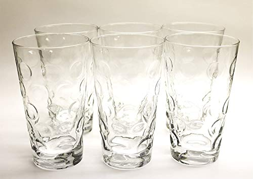 Böckling Premium Dubbegläser - Schoppengläser 6 Stück je 0,5l Pfälzer Schoppenglas glasklar