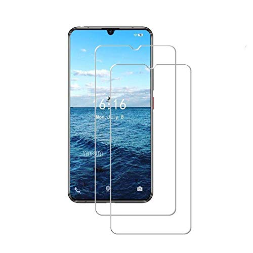 MSOSA [2 Pack] Tempered glass for Lenovo Z6 Pro Screen Protector,Ultra Clear /9H Hardness/Anti-bubbles Tempered glass for Lenovo Z6 Pro-Transparent