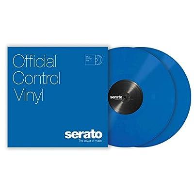 "12"" Serato Control Vinyl - Standard Colors - Blue (PAIR)"