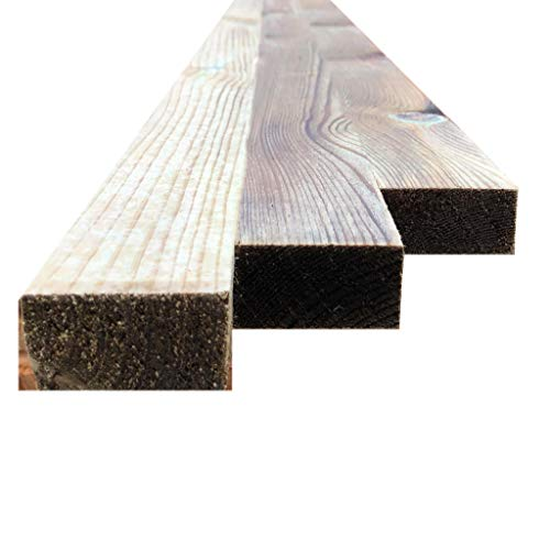 Ruby 2' x 1' (50mm x 25mm) Pressure Treated Sawn Timber Boards (10, 2.4m)
