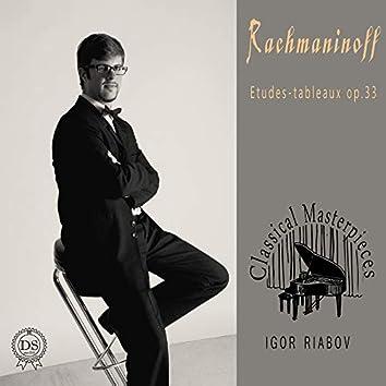 Rachmaninoff: Etudes - Tableaux, Op.33. (Classical Masterpieces)