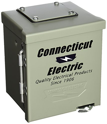 Connecticut Electric CESMPS54HR Connecticut Ps-54-Hr Weatherproof Power Outlet Panel, 120/240 V, 50 A, Nema 14-50R, 3R