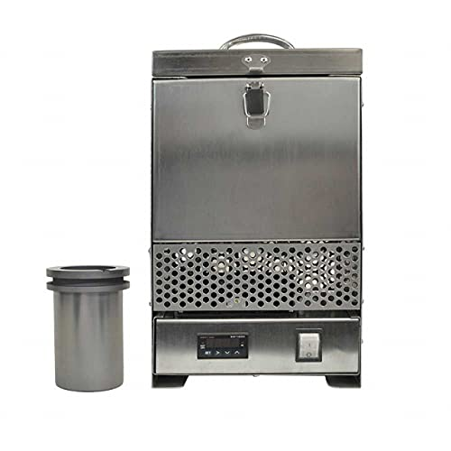 American General Tool Group Hardin HD-2344SS, Steel Tabletop Melting Furnace with 4 kg Crucible
