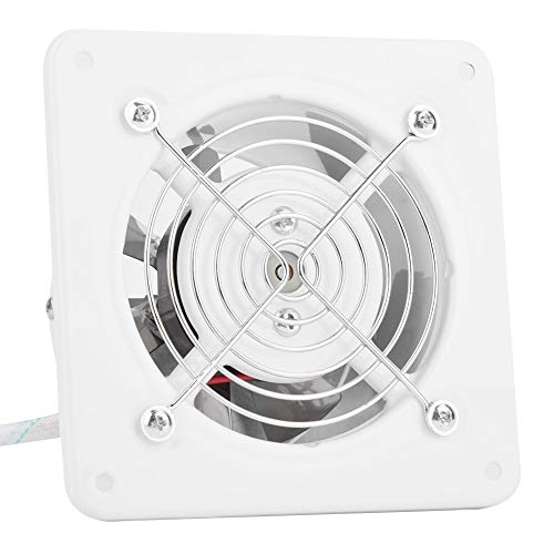 Ventilador de baño, Delaman 25W 220V montado en la pared del ventilador de escape de bajo ruido Inicio baño cocina garaje...