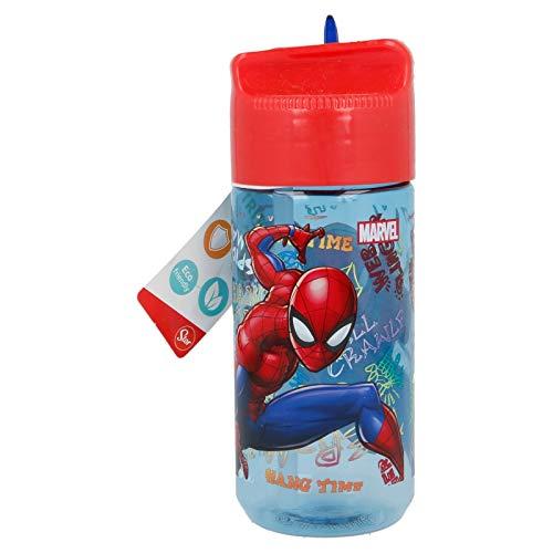 Spiderman Trinkflasche Tritan Hydro Graffitti Home Unisex Erwachsene Komposition