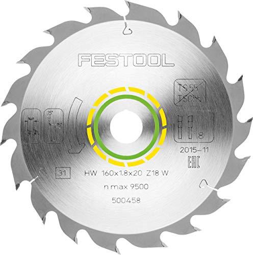 Festool 500458 Standard-Sägeblatt 160x1,8x20 W18