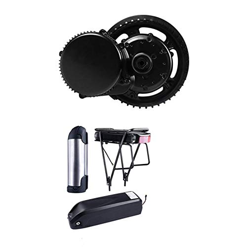 B-a-f-a-n-g BB-S01B Mid Drive Motor 36V 250W Electric Bike Conversion Central Engine Kit With 10Ah 15.6Ah 17.5Ah 20Ah Bicycle Battery (Color : 36V 15.6Ah 500C, Size : Free) JoinBuy.R