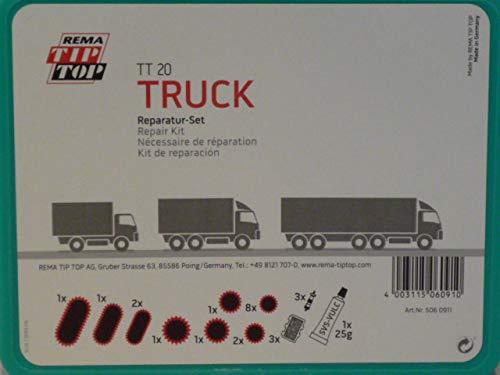 Rema Tip Top Schlauch-Reparatur-Set, Sortiment TT 20 TRUCK, Schlauchflicken 506091