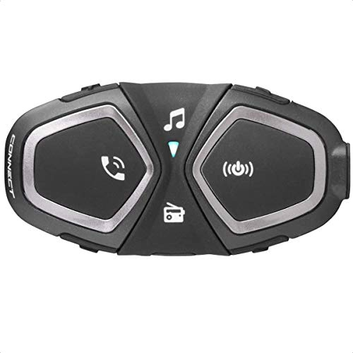 INTERPHONE cellularline CONNECT - Interfono Moto Bluetooth Solo - Pilota Passeggero