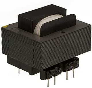 Power Transformer 6.0VA Dual 115//230V Primary Parallel 6.3V @ 1.0A Split Bobbin Domestic PC Mount XFMR Series 12.6VCT @ 500mA