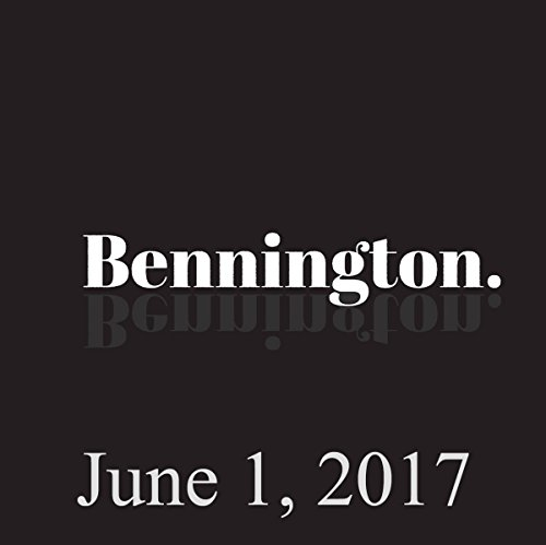 Bennington, June 1, 2017 audiobook cover art