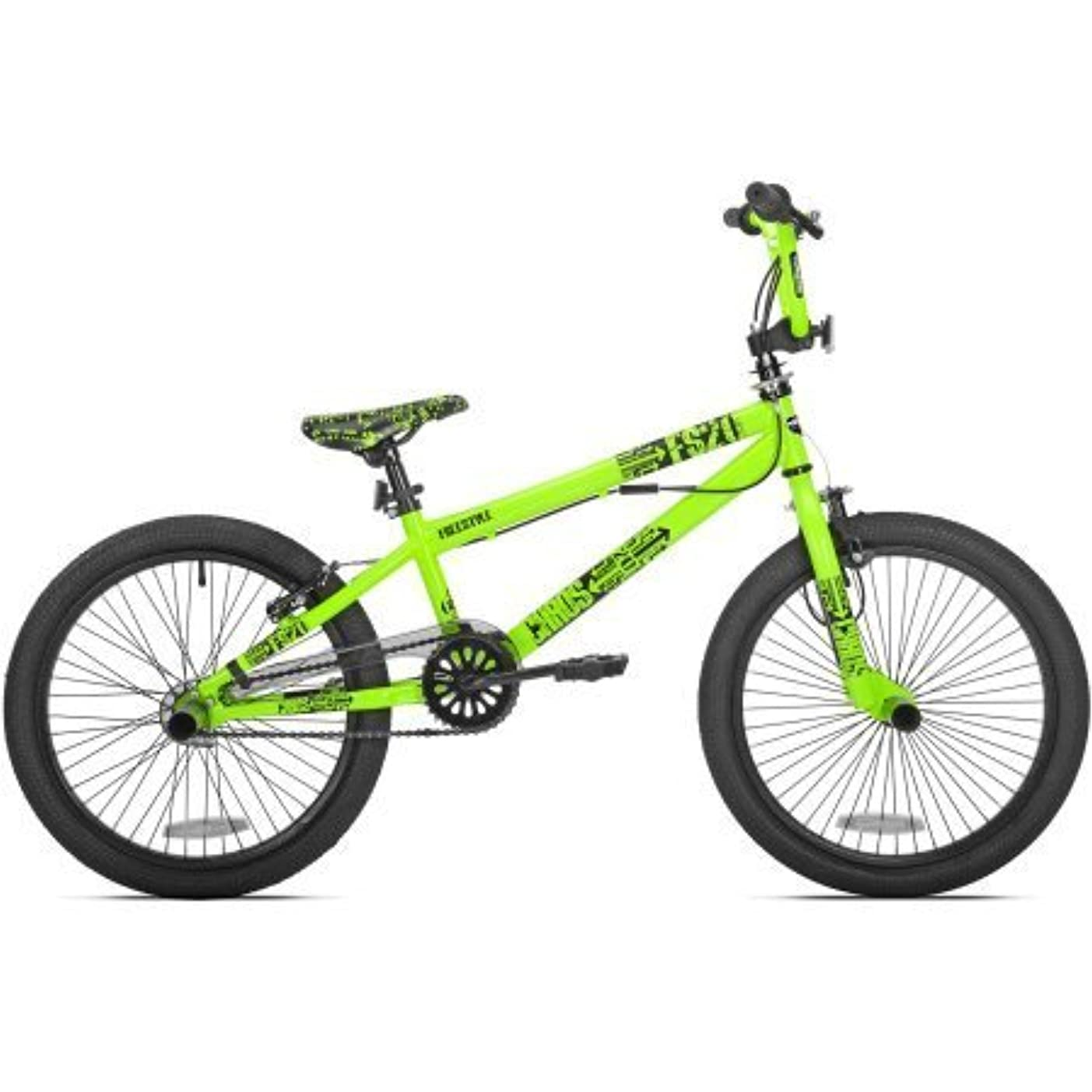 制限されたとても食欲20 Chaos Boys' BMX Bike,Neon Green by Thruster