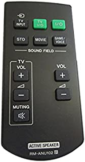Replacement Remote Control for RM-ANU102 fits for Sony Active Speaker SA-40SE1 SA-32SE1 SA-46SE1