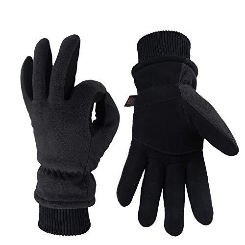 XUJINGJIE Winter Ski Gloves Waterproof Windproof Thermal Insulated Gloves -20℉ Coldproof Ski Gloves for Men Women Sport Gloves for Cycling, Snowboard, Camping, Outdoor Sports,A,XL