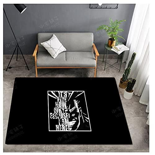 Carpet Rectangular Door Mat Living Room Sofa Child Bedroom Area Bedside Table Coffee Table Cloakroom Cartoon Animation Game Mat Washable