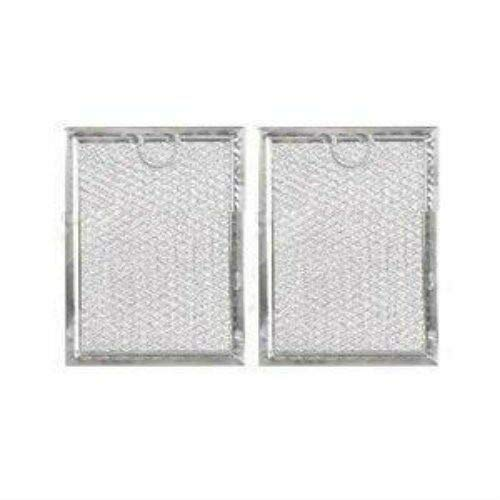 (Ranges & Cooking Parts) (2 PACK) 7-3/4 x 9 x 3/32 Microwave Grease Over Range Filter (AFF105-M) By AFF