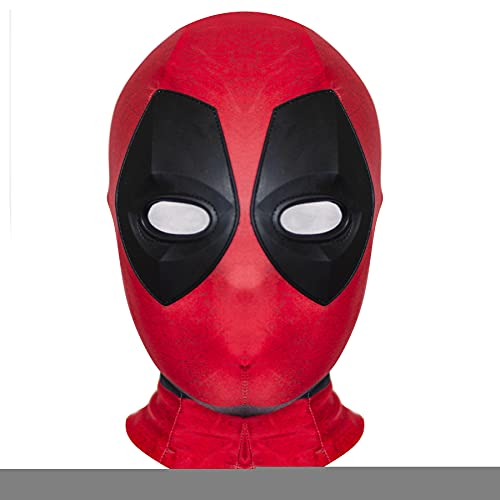Enfant Spiderman Masque Deadpool Capuche Avengers Venom Casque Lycra Spandex Masque Casque Couvre-Chef Film Cosplay Accessoires Halloween Couvre-Chef,G-Adult~One Size