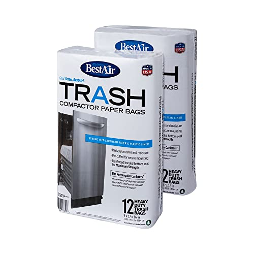 BestAir WMCK1335012-2 Heavy Duty Trash Compactor...