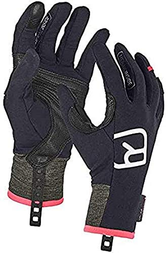 ORTOVOX Damen Tour Light Handschuhe, Black Raven, M