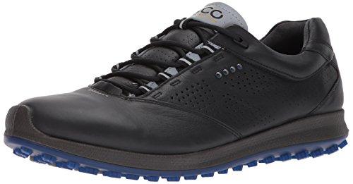 Ecco ECCO Herren Men's Golf Biom HYBRID 2 Golfschuhe, Schwarz (Black/Bermuda Blue), 40 EU