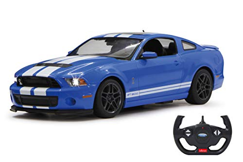Jamara Ford Shelby GT 500 Deluxe 404540 27 MHz 1/14 Bleu