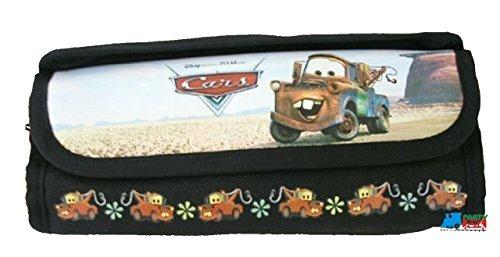 Cars Cloth Pencil Case Pencil Box - Mater - Black