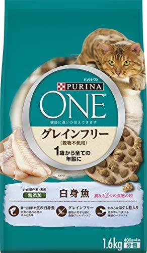 ネスレ日本ピュリナワン『グレインフリー(穀物不使用)白身魚』