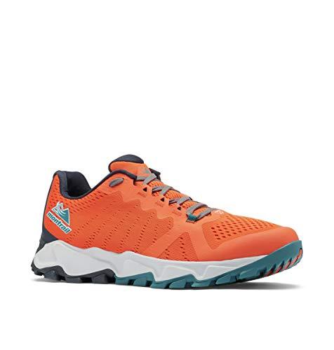 Columbia Trans Alps F.K.T, Zapatillas de Gimnasio Hombre, Autumn Orange/Deep Wave, 43 EU