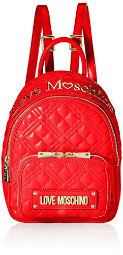Love Moschino Damen Jc4009pp1a Rucksackhandtasche, Rot (Rosso), 10x21x26 Centimeters