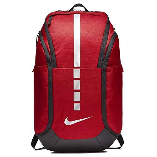 Nike Hoops Elite Hoops Pro Basketball Backpack University Red/Black/Metallic Cool Grey,One Size