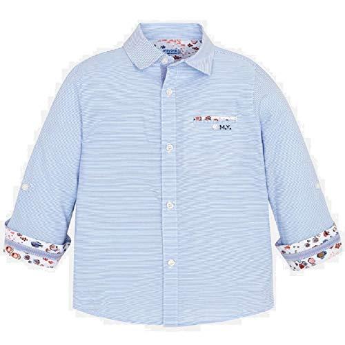 Mayoral Camisa Manga Larga Contrastes niño Modelo 3177