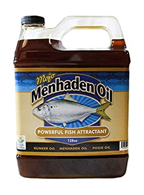 Aquatic Nutrition Menhaden Oil Mojo Premium Menhaden Oil Gallon, MojoGal
