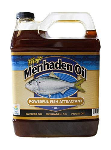 Aquatic Nutrition Menhaden Oil Mojo Premium Menhaden Oil Gallon, MojoGal, 1 gallon
