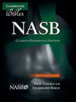 NASB Clarion Reference Bible, Brown Calfskin Leather, NS485:X