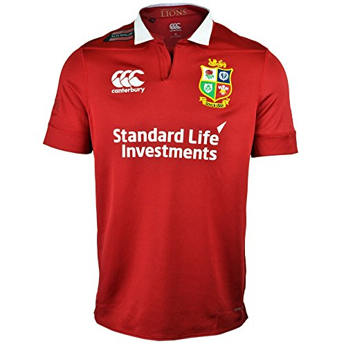 Canterbury Herren British und Irish Lions Trikot, atmungsaktiv XL Rot - Tango Red