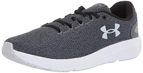 Under Armour Women's Charged Pursuit 2 Twist Running Shoe, Gray, 8 M US