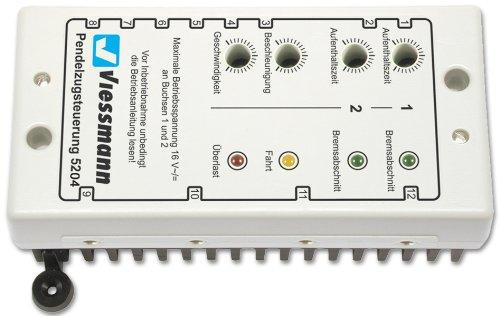 Viessmann 5204 - Pendelzugsteuerung für Wechselstrombahnen, Figuren und Ausschmückungen