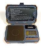 US Balance Pocket Digital Pocket Scale 20g x 0.001g Cal Weight Jewelry Gold Gram Herb Karat