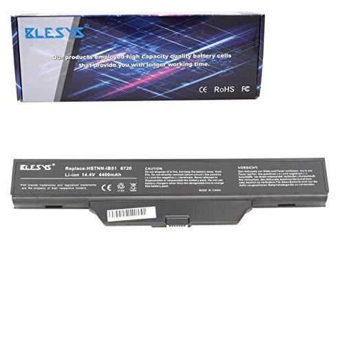 BLESYS 14.4V HSTNN-IB51 HSTNN-LB51 HSTNN-IB62 Batteria per HP Compaq 550 511 610 615 6720s 6730s 6735S 6820s 6830s Serie 491278-001 HSTNN-FB51 HSTNN-OB62 Computer portatile 8 Cellule 4400mAh